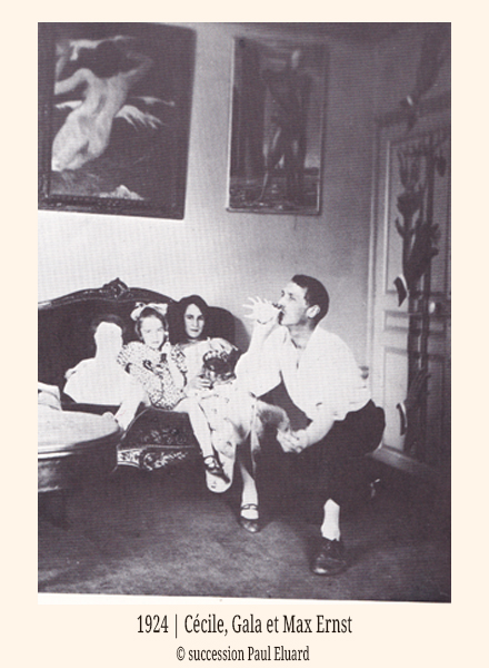1924-Cecile-Gala-Max-Ernst