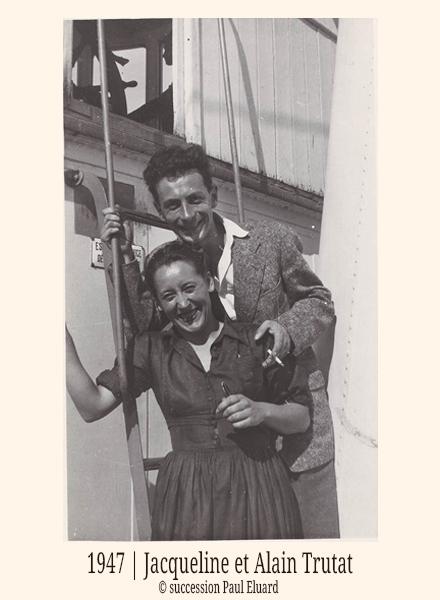 1947 Jacqueline Et Alain Trutat Succession Paul