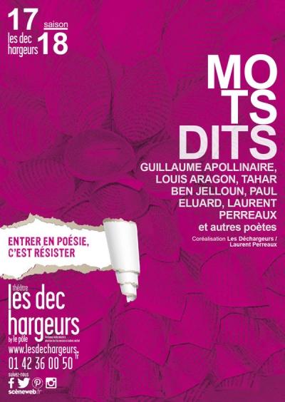 Les mots dits par Laurent Perreaux