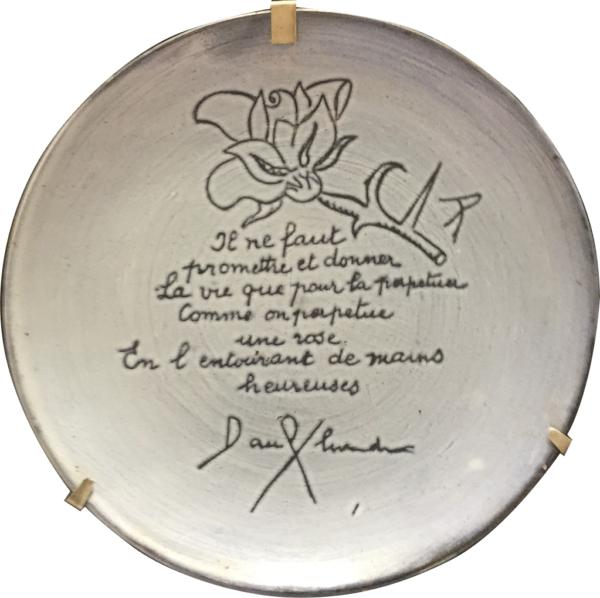 assiette Picasso poème Eluard